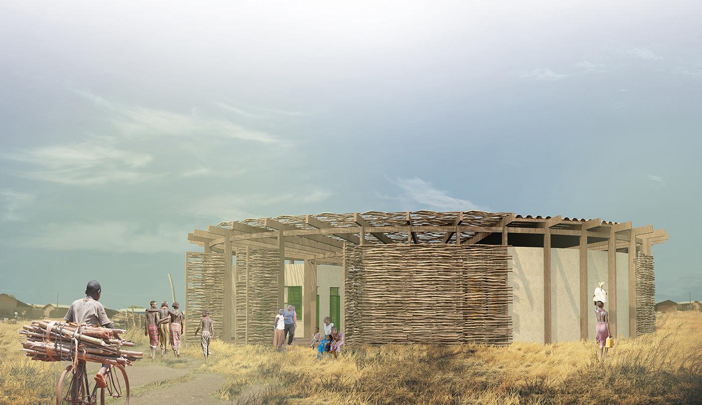 muta arquitetos_escola rural na savana africana 01