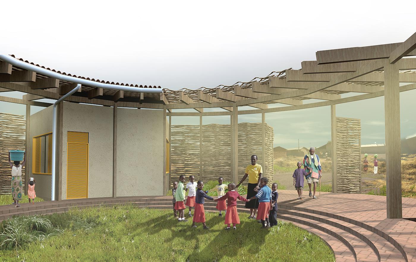 muta arquitetos_escola rural na savana africana 03