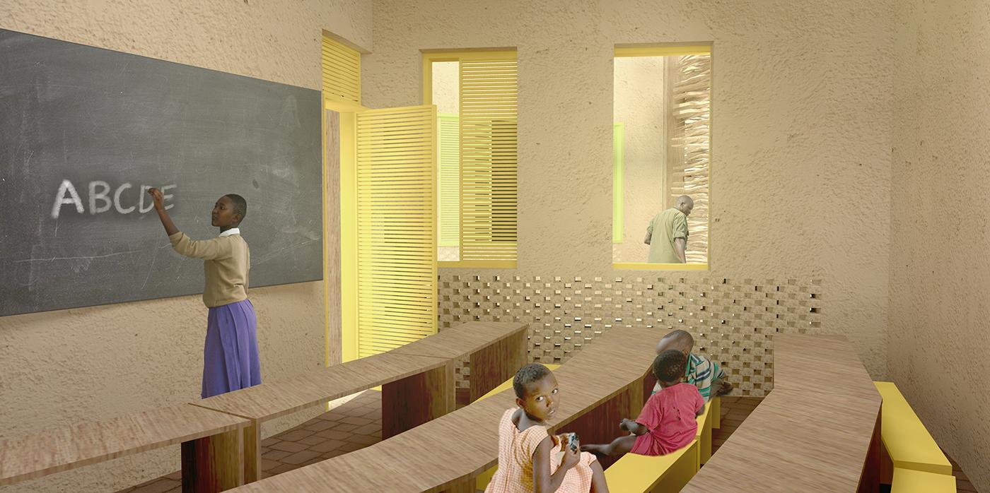 muta arquitetos_escola rural na savana africana 04